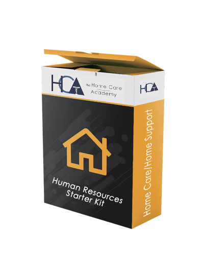 Home Care/Home Support Human Resources Starter Kit